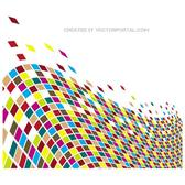 COLORFUL TILES VECTOR BACKGROUND.eps