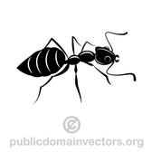ANT VECTOR CLIP ART IMAGE.eps