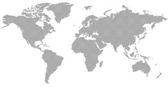 Dotted world map free