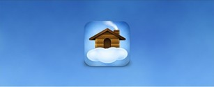Cozy Log HOME Web Icon PSD