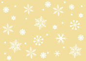 Free Vector Snowflake Background