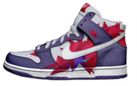 nike dunks . PSD