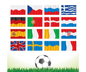 Euro Cup 2012 All Team Flag, Free
