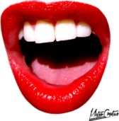 Open mouth PSD