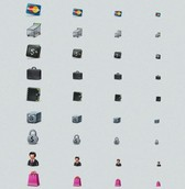 12 Business Ecommerce Icons Set PNG