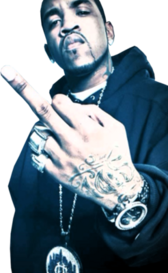 Lloyd Banks Middle Finger PSD