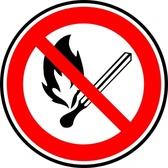 No Fire Or Flames Allowed