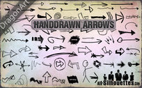 72 Hand Drawn Vector Arrows