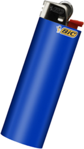 Bic Lighter PSD