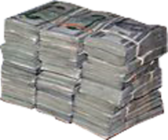 Stacks Of Money PSD