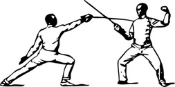 Fencing Parry Of Sixte