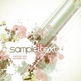 Abstract Grungy Paint Background Template