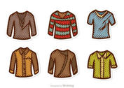 Man Shirt Vectors Pack