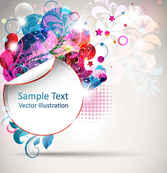 Trend of creative posters vector background01
