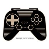 GAMEPAD VECTOR CLIP ART.ai