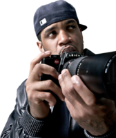Lloyd Banks Holding Camera PSD
