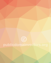 Triangular Colorful Vector Pattern Background Design