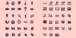 Huge Set Of Vector Icons