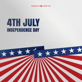 4th of july free background template