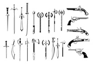 Awesome High Quality Vector Weapons Pack