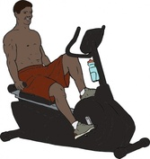 Exercise Bike Man