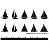SAILBOAT SILHOUETTES VECTOR PACK.ai
