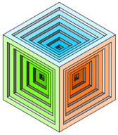engraved cube 2