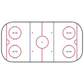 HOCKEY RINK VECTOR IMAGE.eps