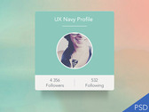 Profile UI widget