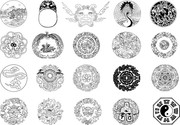 Chinese Classical Vector Of Fifteen