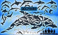 55 Vector Dolphins