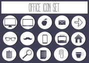 Free Vector Office Icon Set