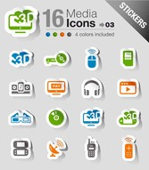 The Exquisite Electronic Products Stickers 03