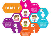 Family Vector Infographic