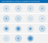Optical Elements Vector Set