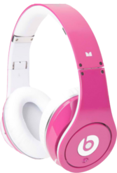 Pink Beats By Dr Dre PSD