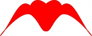 Winged Heart Silhouette