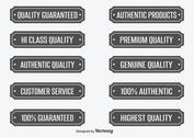 Quality Vector Labels