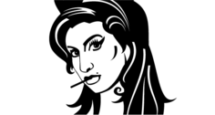 Free Vector Amy Winehouse Portrait