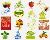 Stock Icons: Obst Symbole-Set