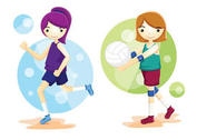 Volleyball Athlete Vectors