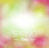 Dream spring time background