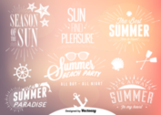 Summer Time Vectors