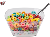 Cereal Bowl (Froot loops) [HD] PSD