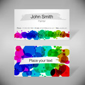Free vector about abstract business card templates-2