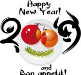 Happy New Year and Bon appetit