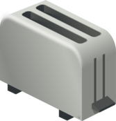 isometric toaster