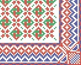 Patterns vector old russian national ornaments2