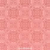 Retro pink vector pattern