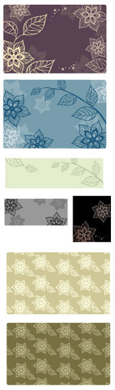 South Korea Background Pattern Vector Graphic Series